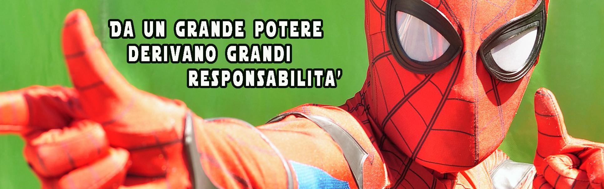 spiderman up animazione